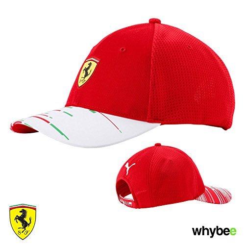 87f452695fe2ef 2018 Scuderia Ferrari F1 Formula One Team Cap by Puma Red - Adult ...