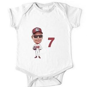 2019 Kimi Raikkonen babybodysuite short sleeve