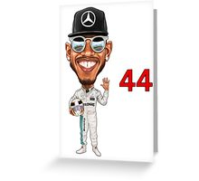 2019 - Lewis Hamilton Greeting Card