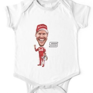 Sebastian Vettel Baby Bodysuit Romper