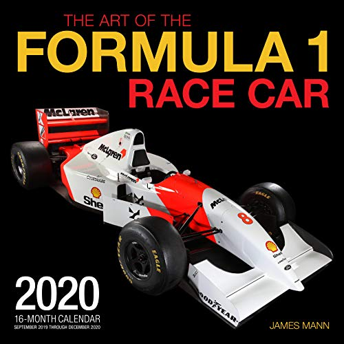 The Art Of The Formula 1 Race Car 2020: 16 Month Calendar