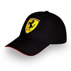 New for 2017. Scuderia Ferrari Kids / Rookies Classic Cap - Black
