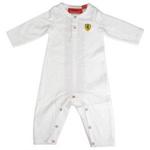 Scuderia Ferrari Baby Romper | White (9-12 months)