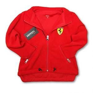 Ferrari F1 Team Kids Red Scudetto Zip Front Jacket Fleece 5-6 years