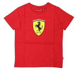 Scuderia Ferrari Kids / Rookies Classic T-Shirt | Red (7-8 years)