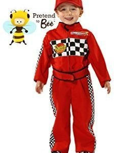 F1 Racing Driver - Kids Costume 3 - 5 years