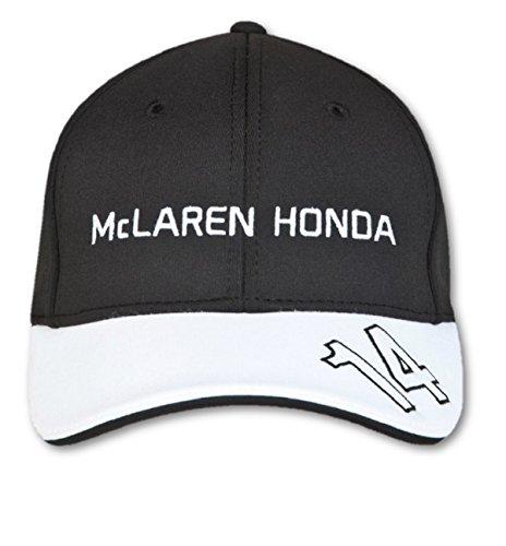 McLaren Honda Official Fernando Alonso Cap Kids Black Hat Headwear Formula 1