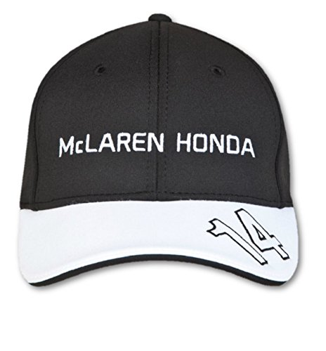 McLaren F1 Alonso Men Honda Official Cap, Men, McLaren Honda Official Alonso Cap, black/white