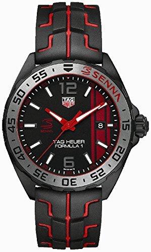 Tag Heuer Formula 1 Ayrton Senna Clock waz1014.ft8027