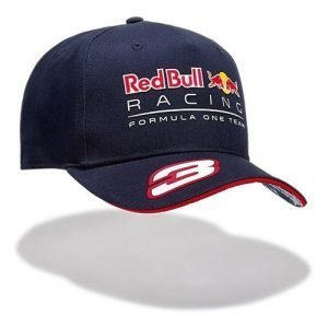 Official Red Bull F1 2017 Ricciardo Curved Cap