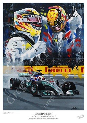 Lewis Hamilton Wold Champion 2017
