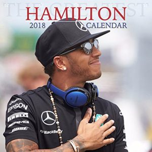Lewis Hamilton F1 World Champion 2018 Calendar