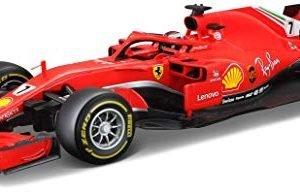 Bburago Maisto France Formula 1 Ferrari 2018 SF71H-Scale 1 18-Kimi Raikkonen, 16806R, Red