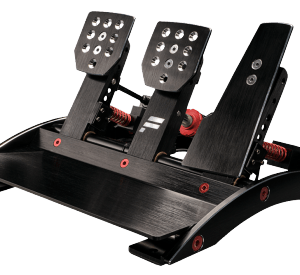 Nothing will make you faster than a set of good pedals - full metal, magnetic hall sensors, 90kg loadcell, adjustable brake stiffness & travel, 12bit resolution, vibration feedback on throttle and brake.