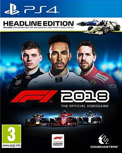 F1 2018 Headline Edition : Playstation 4 , ML