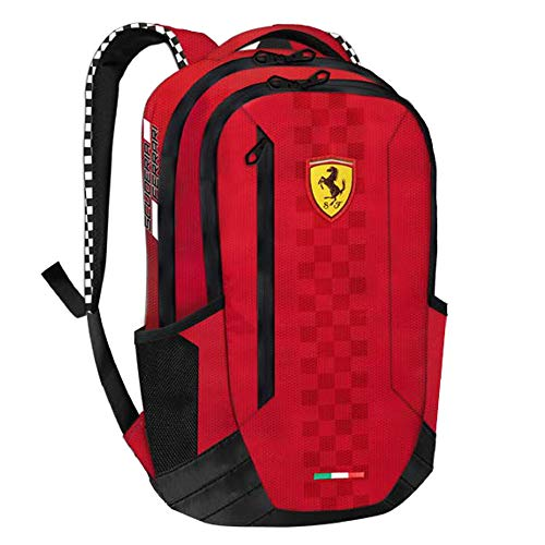 best price enjoy discount price reasonable price Ferrari 2018 Scuderia F1 Formula One Large RED Backpack Shoulder Sports Bag