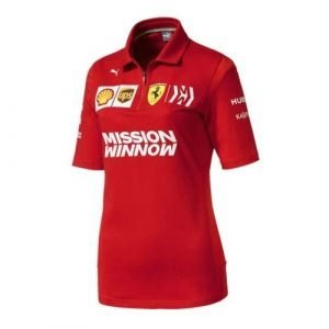 Ferrari Women's Scuderia 2019 F1™ Team Polo Shirt (XS)