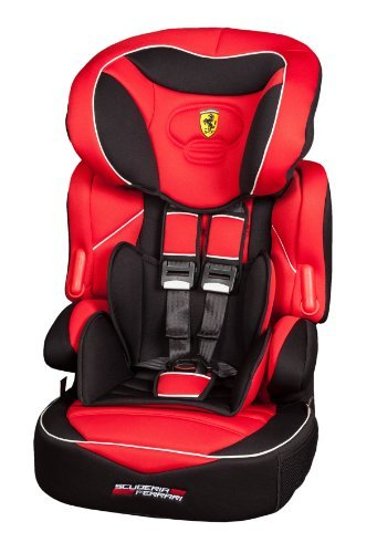 Car seat FERRARI, stages 1, 2 \u0026 3 , suitable from 9kg to 36kg
