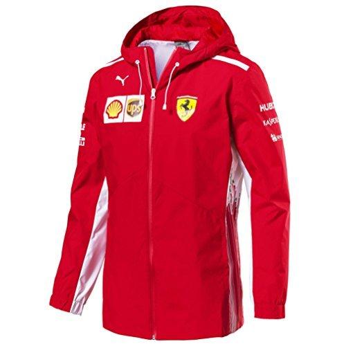 scuderia ferrari f1 racing sf team puma rain jacket red. Black Bedroom Furniture Sets. Home Design Ideas