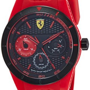 Ferrari watch red