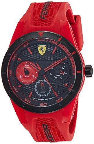 Ferrari watch red