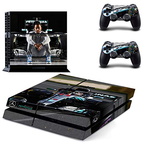 Formula 1 F1 Lewis Hamilton PS4 Vinyl Skin Sticker Decal for Console & 2 Controllers