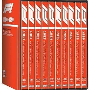 Formula One 1980-89 (10 DVD) Box Set