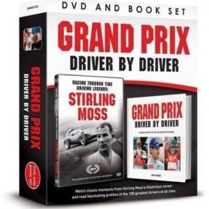 Grand Prix Driver by Driver Book DVD Gift Set