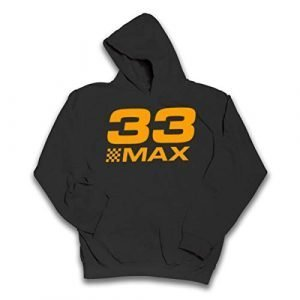 Hotfuel 33 Max Childrens Hoodie (7-8 Years, Black)