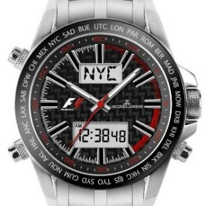 Jacques Lemans Formula 1™ UTC - Chrono F-5024B Gents Metal Bracelet Watch