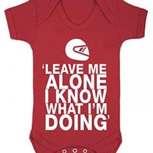 Kimi Raikkonen baby bodysuit