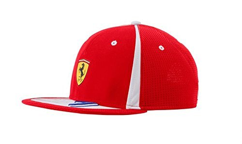 your ah ferrari hats hat with of logos customized bucket decorated custom front white view baseball wht cap midrange red