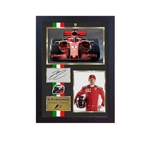 Kimi Raikkonen signed autograph 2018