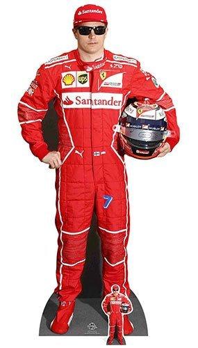 Kimi Raikkonen star cutouts