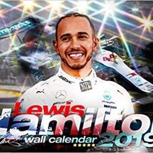 Lewis Hamilton 2019 calendar - 1