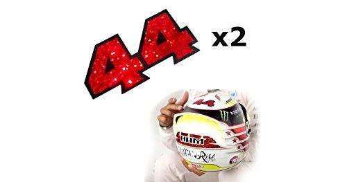 Lewis Hamilton Helmet sticker