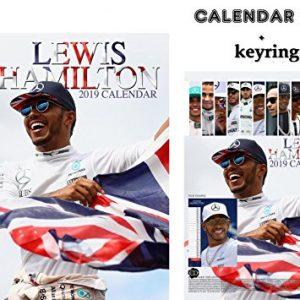 Lewis Hamilton calendar + keyring 2019