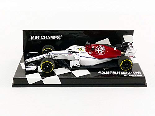 minichamps 417180009 1 43 2018 alfa romeo sauber f1 team ferrari c37 marcus ericson multi. Black Bedroom Furniture Sets. Home Design Ideas