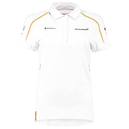 mclaren f1 official 2018 team polo shirt - adult (l) - formula 1