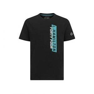 Mercedes AMG Petronas Kid's Official 2019 F1™ Fanwear Lewis Hamilton 44 T-Shirt Black