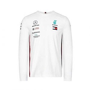 Mercedes-AMG Petronas Motorsport Men's 2019 F1™ Team Long Sleeve Driver T-shirt (White)