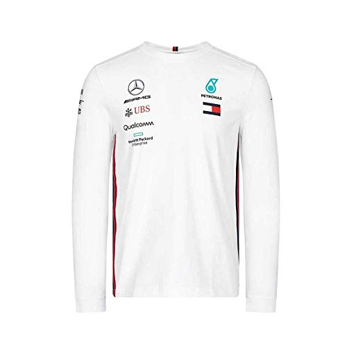 Mercedes-AMG Petronas Motorsport Men's 2019 F1™ Team Long Sleeve Driver T-shirt (White)