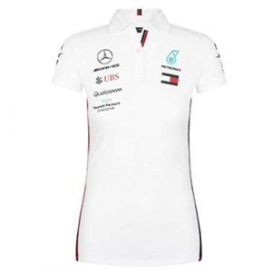 435d7d7e4e7 Mercedes-AMG Petronas Motorsport Women's 2019 F1™ Team Polo Shirt (White)