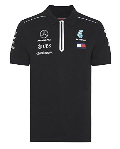 Mercedes Polo Black 2018