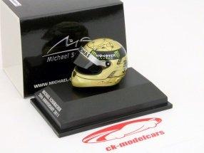 Michael Schumacher helmet 2011