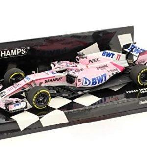 Minichamps 417189011 Sahara Force India F1 Team Show Car Model, Pink