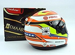 Model Helmet Mini Formula One 1 Lotus F1 Team Pastor Maldonado 1 2 Scale 2014