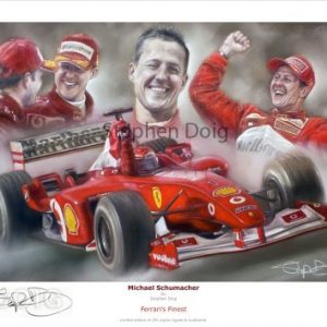 Print Michael Schumacher