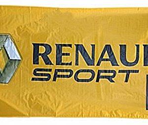 RENAULT SPORT F1 Flag Banner 5' x 2.5' Formula 1