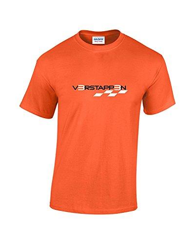 Rinsed Verstappen F1 T-Shirt (Orange Medium)